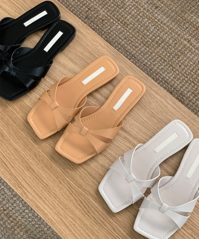 Ribbon casual slippers Women's Clothing Shopping Mall DALTT